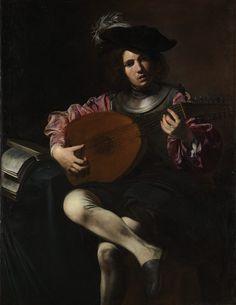 Valentin de Boulogne, Joueur de luth, c. 1626. New York, Metropolitan Museum.