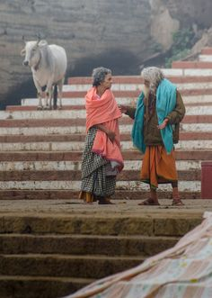 Sharing the news on the Ghats