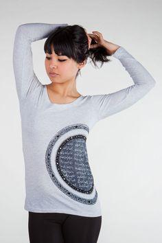 ALANGOO - LOVE IN A CIRCLE Handmade Persian T-Shirt