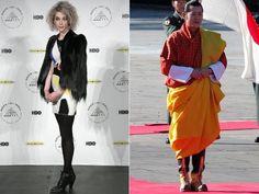 Los mejor vestidos de 2014 según Vanity Fair (© Andy Kropa/Invision/AP & AP Photo/Itsuo Inouye)