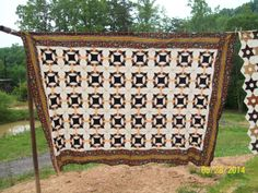 Twin/Full size: Ceacer's Crown Quilt