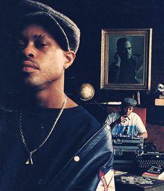 guru ( x dj premier = gangstarr Arte Hip Hop, Hip Hop Art, Love N Hip Hop, Hip Hop And R&b, Radios, East Coast Hip Hop, Hiphop, History Of Hip Hop, Gang Starr