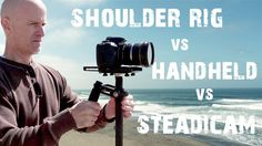 A quick test between handheld VS shoulder rig VS steadicam VS glidecam with your DSLR camera. This test will give you an idea of how stable your video footag...