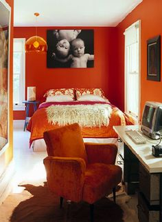 Orange Bedroom Ideas Style Estate On Tour Of My Home