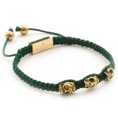 Description Healing Power More A modern design for any man or woman, this bracelet feathers Golden Hunter Bead-Skulls and gets finished with our gold-plated log Beaded Skull, Plating, Beaded Bracelets, Product Description, Beads, Gold, Men, Jewelry, Beading