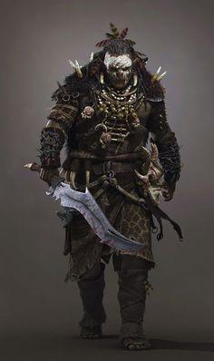 m Orc Shaman magic sword