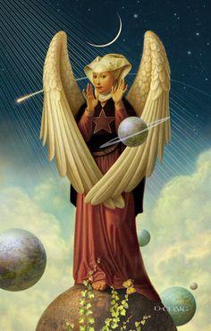 Celestial Angel by Daniel Craig