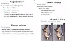 Please sign our petition on Change.org to reinforce removal of photos and videos about animal abuses on Facebook.