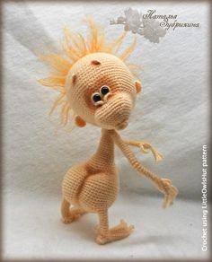 084 Baby monkey - Amigurumi Crochet Pattern PDF file by Pertseva
