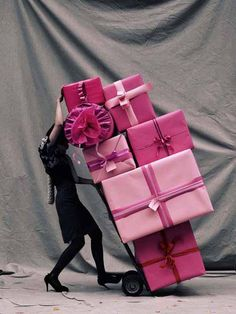 Plein d'idées cadeaux très #pink pour Noël ! #Xmasgift #santa