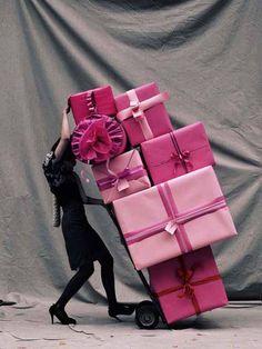 Plein d'idées cadeaux très #pink pour Noël ! #Xmasgift #santa