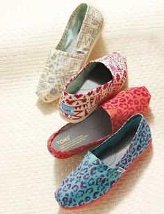 WOW, it is so cool. I also want to own one. Toms shoes.$17.95