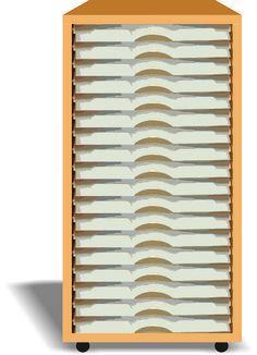 Single Stacker Kit R3 - 19 Slot::Single Stackers::Best Craft Organiser - Stackables::Storage Furniture Suppliers, Craft Storage Boxes, Office Storage Furniture, UK