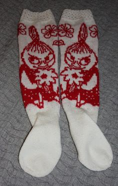 Mumi, Socks, Knitting, Stockings, Tricot, Sock, Stricken, Knitwear, Crocheting