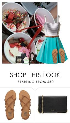 """""""Eatting Froyo with Kate"""" by grace-food-lover ❤ liked on Polyvore featuring Billabong, Marc Jacobs, Savannah Hayes and Disney"""