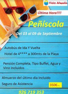 #Oferta de última hora para #Peñíscola..   #vacaciones #viajes #viajar #turismo
