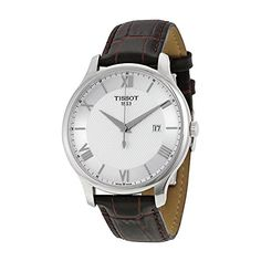 Now available Tissot Men's T0636101603800 Tradition Analog Display Swiss Quartz Brown Watch