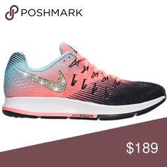 Bling Nike Air Zoom Pegasus 33 Shoes w  Swarovski 💎 Authentic New Women s  Nike Air 2026584eb6c6