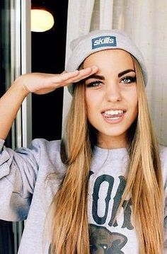 girl, nice, style, swag