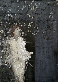 ♒ Enchanting Embroidery ♒ embroidered art | Hinke Schreuders