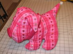 Free Patterns Stuffed Animals Dog   pattern description stuffed animals dog and cat i made the dog pattern ...