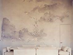 watercolor walls . kelly behun, designer