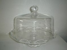 Old Princess House Crystal   Details about Vintage Princess House Cake Plate w/Dome in Box Crystal ...