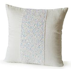 Decorative Pillow Case - Ivory Silk Throw Pillow Cover - Beaded Pillow Cover - Handcrafted Pillow Covers - Couch Pillow - Wedding Anniversary Gift - (14 Amore Beaute http://www.amazon.com/dp/B00X5ZRZ96/ref=cm_sw_r_pi_dp_sasHvb0CFRGGN