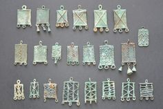 Amlash bronze pendants, 1st millenium B.C. Private collection
