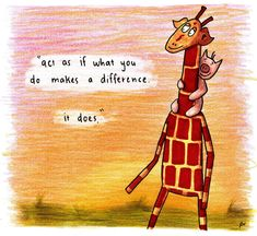 Motivating Giraffe   Inspiration from the world's tallest mammal