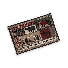 log cabin tablecloths - Google Search