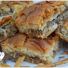 ΚΡΕΑΤΟΠΙΤΑ ΠΕΝΤΑΝΟΣΤΙΜΗ!!! Greek Appetizers, Greek Desserts, Greek Recipes, Lowest Carb Bread Recipe, Low Carb Bread, Cookbook Recipes, Dessert Recipes, Cooking Recipes, Easy Recipes
