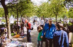 Der Flohmarkt am Boxi, eine von zahlreichen Berliner Attraktionen für Shopping-Begeisterte.