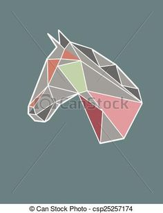 washi tape geometric horse - Sök på Google