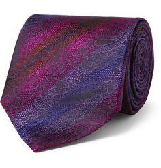 Etro Paisley Woven-Silk Tie | MR PORTER