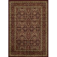 """Belmont Red Area Rug 9'3"""" x 12'6"""" $744 Pile height: 0.43"""""""