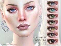 The Sims Resource: Gantix Eyes N112 by Pralinesims • Sims 4 Downloads