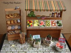 Farmer's Market (1:12 Scale) by birdielover.deviantart.com on @deviantART