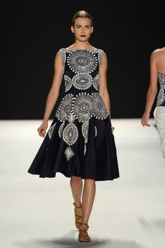 Naeem Khan - Runway - Spring 2013 Mercedes-Benz Fashion Week