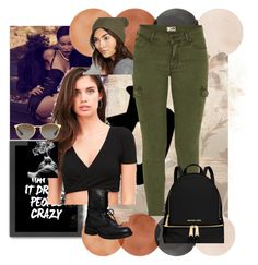 """""""bad girl"""" by blunted-diva on Polyvore featuring Mother, Project Social T, MICHAEL Michael Kors, Steve Madden, Wet Seal, Ray-Ban, Americanflat, Smoke and tricks"""