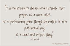 EM Bounds Prayer Quote