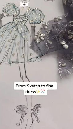 Dress Design Sketches, Fashion Design Sketchbook, Fashion Design Portfolio, Fashion Design Drawings, Fashion Sketches, Fashion Sewing, Diy Fashion, Fashion Design Classes, Fashion Drawing Tutorial