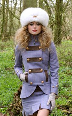 Lavender Prince Of Wales Package by Holland & Cooper Prince Of Wales, Strike A Pose, Famous Faces, Female Fashion, Womens Fashion, Tweed, What To Wear, Style Me, Winter Fashion