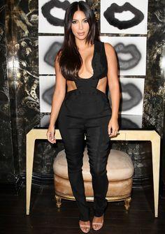 Kim compareceu ao evento nesta quarta-feira (20). (Foto: Getty Images)