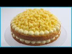 TORTA MIMOSA RICETTA ORIGINALE CLASSICA FACILE by ItalianCakes - YouTube Italian Desserts, Italian Recipes, How To Make Cake, Food To Make, Italian Custard, Italian Sponge Cake, Cream Cake, Cake Pans, Royal Icing