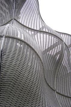 Woven facade by Thomas Heatherwick