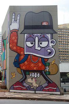 Beyond Banksy Project | Chivitz | São Paulo, Brazil