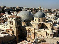 Basílica del Santo Sepulcro , Jerusalén