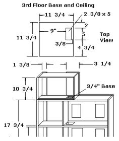 Free Doll House Plans - How to Build A Dollhouse