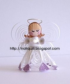 paper quilling 3d fairies angels - Google Search